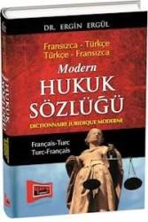 Yargı Yayınevi - Modern Hukuk Sözlüğü - Fransızca Türkçe - Türkçe Fransızca