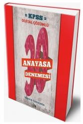 Modus Yayınları - Modus Yayınları 2021 KPSS Anayasa Dijital Çözümlü 30 Deneme