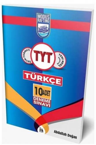 Modus Yayınları TYT Rafting Türkçe 10 Deneme