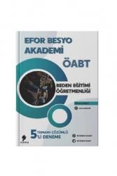 Morena Akademi Yayınları - Morena Akademi Yayınları 2021 ÖABT Beden Eğitimi Öğretmenliği Efor BESYO 5 Deneme Çözümlü