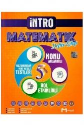 Mozaik Yayınları - Mozaik Yayınları 5. Sınıf Matematik İntro Defter Kitap