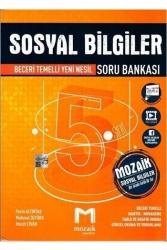 Mozaik Yayınları - Mozaik Yayınları 5. Sınıf Sosyal Bilgiler Soru Bankası