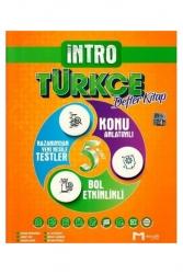 Mozaik Yayınları - Mozaik Yayınları 5. Sınıf Türkçe İntro Defter Kitap
