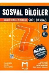 Mozaik Yayınları - Mozaik Yayınları 7. Sınıf Sosyal Bilgiler Soru Bankası