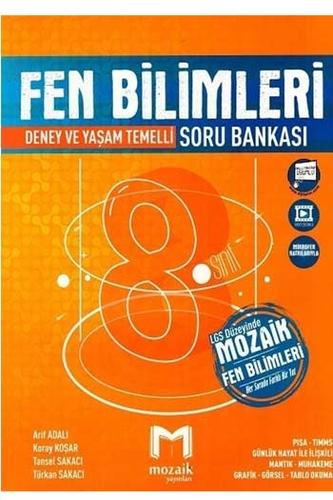 Mozaik Yayınları 8. Sınıf LGS Fen Bilimleri Soru Bankası