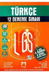 Mozaik Yayınları - Mozaik Yayınları 8. Sınıf LGS Türkçe 12 Deneme Sınavı