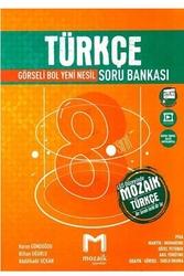 Mozaik Yayınları - Mozaik Yayınları 8. Sınıf LGS Türkçe Soru Bankası