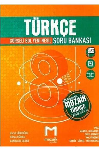 Mozaik Yayınları 8. Sınıf LGS Türkçe Soru Bankası
