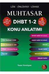 Yazarın Kendi Yayını - Muhtasar 2020 DHBT 1-2 Tüm Adaylar Konu Anlatımlı Hazırlık Kitabı