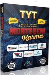 Muhteşem Karma - Muhteşem Karma YKS TYT 7 Farklı Yayın 7 Deneme Muhteşem Yayınları