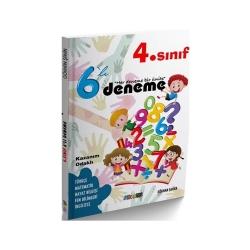 Mürekkep Yayınları - Mürekkep Yayınları 4. Sınıf 6 Deneme