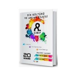Mürekkep Yayınları - Mürekkep Yayınları 8. Sınıf Din Kültürü ve Ahlak Bilgisi 20 Deneme