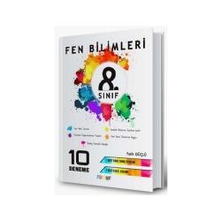 Mürekkep Yayınları - Mürekkep Yayınları 8. Sınıf Fen Bilimleri 10 Deneme