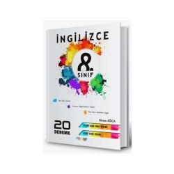 Mürekkep Yayınları - Mürekkep Yayınları 8. Sınıf İngilizce 20 Deneme