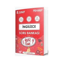 Mürekkep Yayınları - Mürekkep Yayınları 8. Sınıf İngilizce Soru Bankası