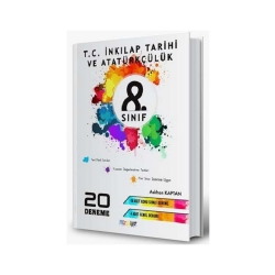 Mürekkep Yayınları - Mürekkep Yayınları 8. Sınıf T. C. İnkılap Tarihi ve Atatürkçülük 20 Deneme