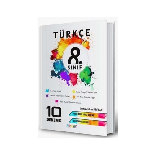 Mürekkep Yayınları 8. Sınıf Türkçe 10 Deneme