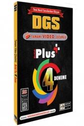 Mutlak Değer Yayınları - Mutlak Değer Yayınları DGS Mutlak Plus Video Çözümlü 4 Deneme