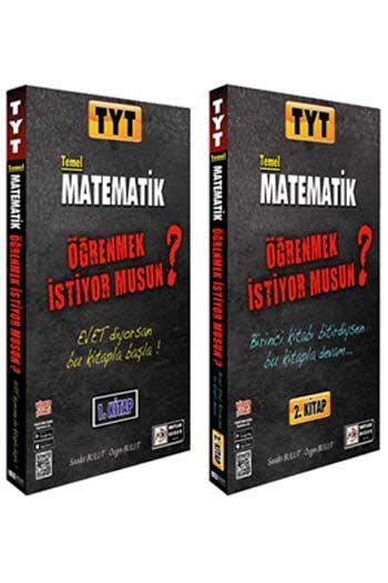 Mutlak Değer Yayınları - Mutlak Değer Yayınları TYT Temel Matematik Öğrenmek İstiyor Musun Seti