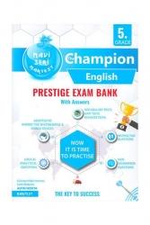 Nartest Yayınları - Nartest Yayınları 5.Sınıf İngilizce Prestige Exam Bank Mavi Seri