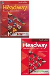 Oxford Üniversity Press - New Headway Elementary Students Book + Workbook Without Key