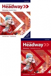Oxford Üniversity Press - ​​New Headway Elementary Students Book + Workbook Without Key 5th Edition