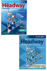 Oxford Üniversity Press - ​New Headway Intermediate Students Book + Workbook Without Key