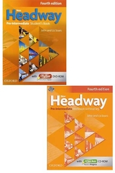 Oxford Üniversity Press - ​New Headway Pre Intermediate Students Book + Workbook Without Key