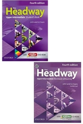Oxford Üniversity Press - ​New Headway Upper Intermediate Students Book + Workbook Without Key