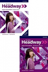 Oxford Üniversity Press - ​New Headway Upper Intermediate Students Book + Workbook Without Key 5th Edition