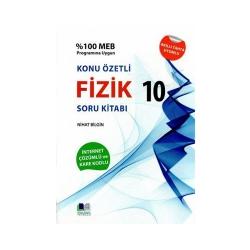 Nihat Bilgin Yayıncılık - Nihat Bilgin Yayınları 10. Sınıf Fizik Konu Özetli Soru Bankası