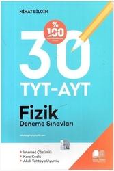 Nihat Bilgin Yayıncılık - Nihat Bilgin Yayınları TYT-AYT Fizik 30 Deneme Sınavı