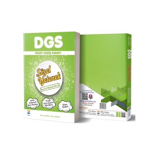 Nisan Kitabevi 2019 DGS Sözel Yetenek Konu Anlatımlı Soru Bankası Tek Kitap Sayısal Mantık İlaveli