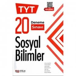 Nitelik Yayınları - Nitelik Yayınları 2021 TYT Sosyal Bilimler 20 Deneme Sınavı