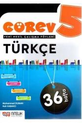 Nitelik Yayınları - Nitelik Yayınları 5. Sınıf Türkçe Görev Yeni Nesil Çalışma Föyleri