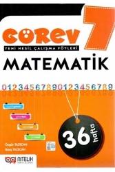 Nitelik Yayınları - Nitelik Yayınları 7. Sınıf Matematik Görev Yeni Nesil Çalışma Föyleri