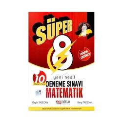 Nitelik Yayınları - Nitelik Yayınları 8. Sınıf Matematik Süper Deneme Sınavı