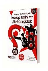 Nitelik Yayınları - Nitelik Yayınları 8. Sınıf T.C. İnkılap Tarihi ve Atatürkçülük Soru Kitabı
