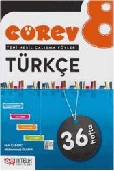 Nitelik Yayınları - Nitelik Yayınları 8. Sınıf Türkçe Görev Yeni Nesil Çalışma Föyleri