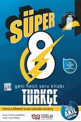 Nitelik Yayınları - Nitelik Yayınları 8.Sınıf LGS Yeni Nesil Türkçe Soru Kitabı