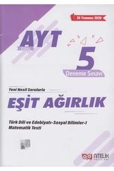 Nitelik Yayınları - Nitelik Yayınları AYT Eşit Ağırlık Özel 5 Deneme Sınavı