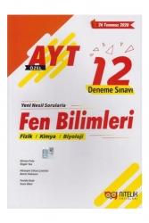 Nitelik Yayınları - Nitelik Yayınları AYT Fen Bilimleri Özel 12 Deneme Sınavı