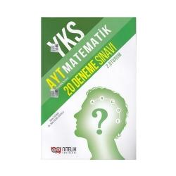 Nitelik Yayınları - Nitelik Yayınları AYT Matematik 20 Deneme Sınavı