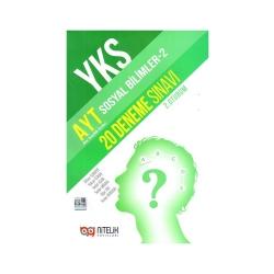 Nitelik Yayınları - Nitelik Yayınları AYT Sosyal Bilimler 2 20 Deneme Sınavı