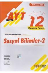 Nitelik Yayınları - Nitelik Yayınları AYT Sosyal Bilimler-2 Özel 12 Deneme Sınavı