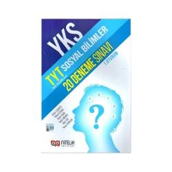 Nitelik Yayınları - Nitelik Yayınları TYT Sosyal Bilimler 20 Deneme Sınavı