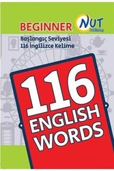Nut Publishing - Nut Publishing Başlangıç Seviyesi 116 İngilizce Kelime