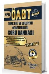 Yekta Özdil - ÖABT Türk Dili ve Edebiyatı Soru Bankası 2501 Soru Yekta Özdil
