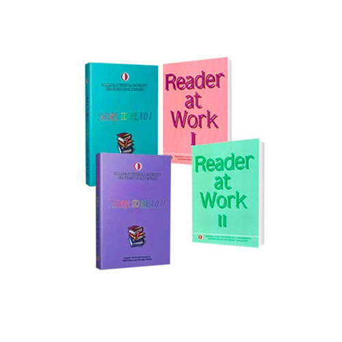 Odtü Yayıncılık Reader at Work 1-2 + More To Read 1-2 Set 4 Kitap
