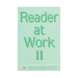 ODTÜ Yayıncılık - Odtü Yayıncılık Reader at Work 2